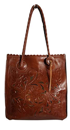 Patricia Nash Cavo Tooled Leather Cutout Tote – Florence