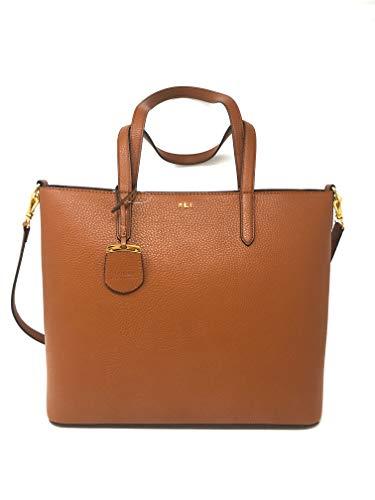 Ralph Lauren Prespring 19 OP Pebbled Leather, Brown