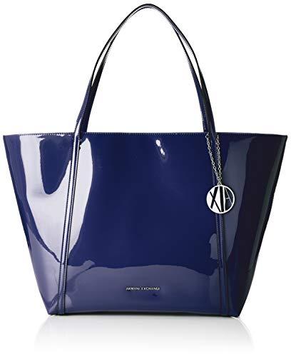 A|X Armani Exchange Medium Shoulder Bag, Navy 63