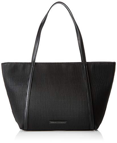 A|X Armani Exchange Women's Seasonal Shoulder Bag, nero – black 130