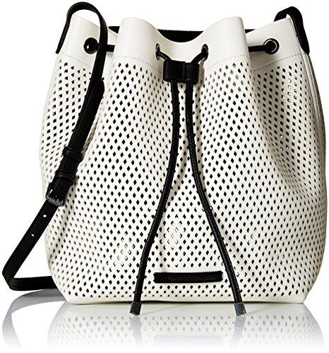 A X Armani Exchange Medium Perforated Bucket Bag, 01610