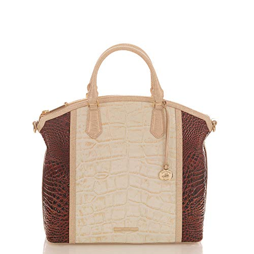 Brahmin Duxbury Satchel Light Gold Brinkley