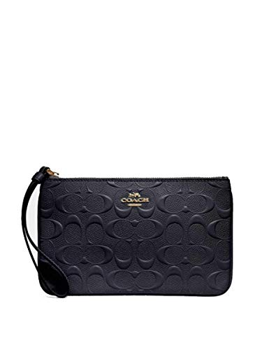 COACH LARGE WRISTLET IN SIGNATURE LEATHER