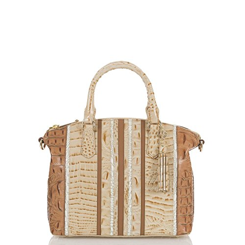 Brahmin Koubba Collection Medium Duxbury Satchel, Champagne