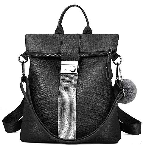 FANSIY Women Backpack Anti-theft Rucksack Shoulder Bag Soft PU Leather Backpack for Women