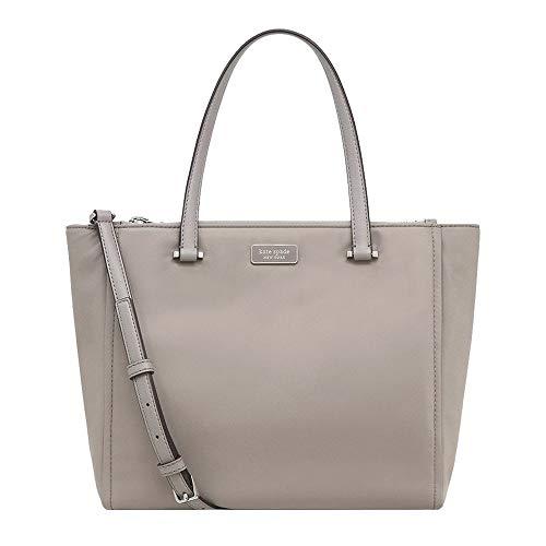 Kate Spade New York Bag Medium Satchel Dawn Gray Tote Bag