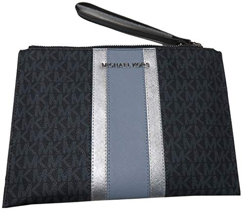 Michael Kors Jet Set Travel XL Zip Clutch Admiral