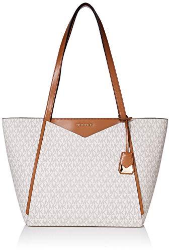 Michael Kors Whitney Ladies Large Logo Twill Tote Handbag 30S8GN1T3B150