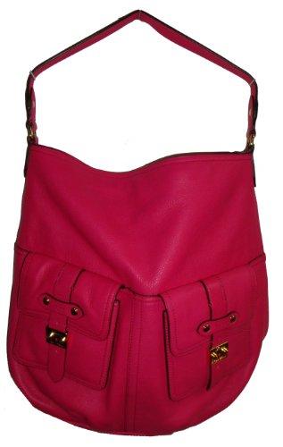 Lauren Ralph Lauren Women's Governer's Lodge Hobo Handbag, Large, Petunia