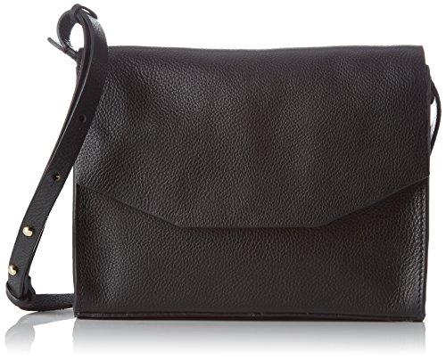 Clarks Unisex Adults' Treen Island Top-Handle Bag, Black (Black Leather), 7 x 18 x 23 cm (Wxhxd)