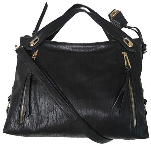 Jessica Simpson Women's Large Roxanne Handbag, Black
