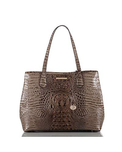 Brahmin Medium Julian Bark Melbourne Geniune Leather Tote