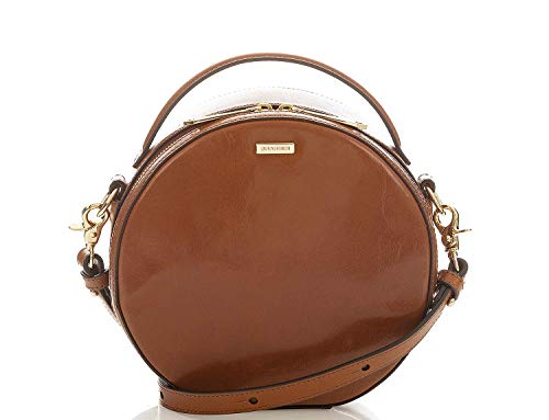 Brahmin Lane Topsail Leather Crossbody Bag, Whiskey
