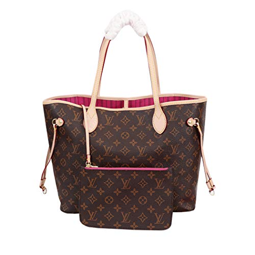 Womens NEVERFULL MM Handbag Shoulder Bag M41177 Monogram Canvas