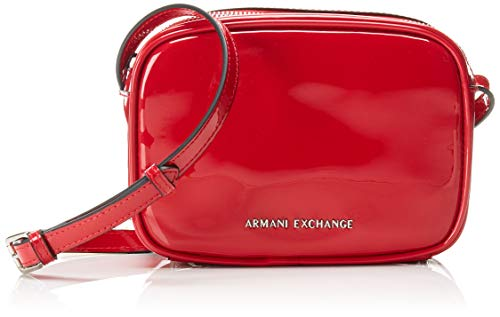 A|X Armani Exchange Women's Small Crossbody Bag, rosso – red 267
