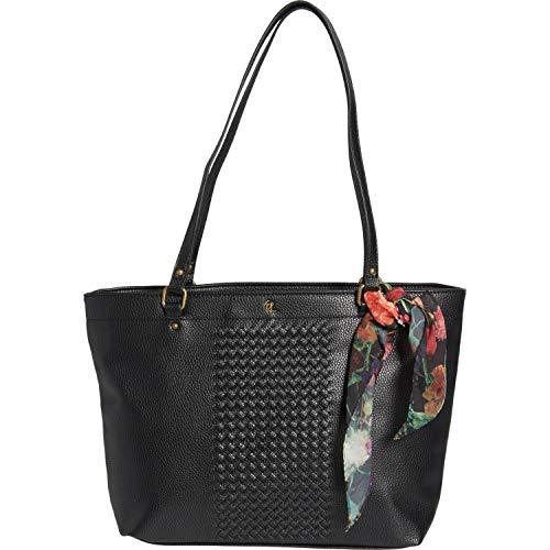 Elliott Lucca Large Ayda Shopper Handbag- Black