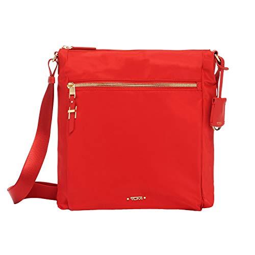 TUMI – Voyageur Canton Crossbody Bag – Over Shoulder Satchel for Women – Sunset