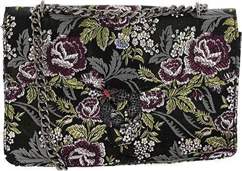 Steve Madden Women's Bkarly Polyester Cross Body Bag – Black/Multi