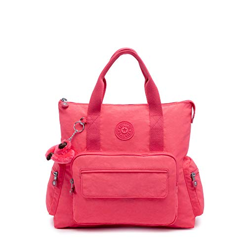Kipling Alvy2-In-1 Convertible Tote Bag Backpack Grapefruit Tonal