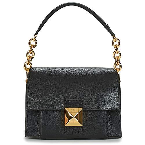 Furla Furla Diva S Mini Shoulder Bag In Black Leather Black