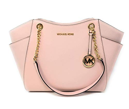 Michael Kors Women's Jet Set Travel – Large Chain Shoulder Tote Blossom