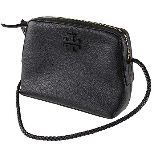 Tory Burch Taylor Camera Bag Black Leather TB Logo