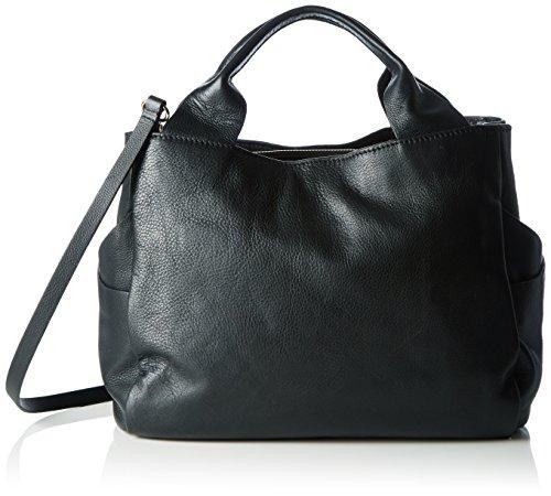 Clarks Women's Talara Star Top-Handle Bag, Black (Black Leather), 17x32x26 Centimeters (B x H x T)