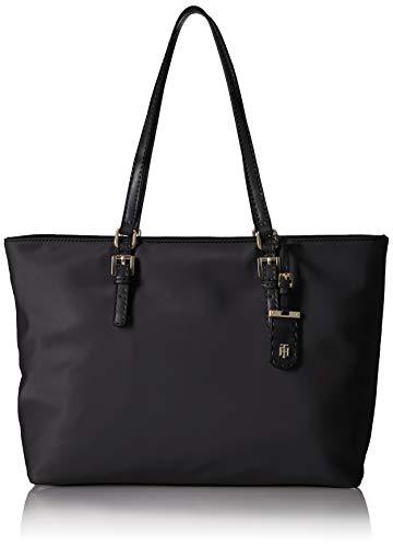 Tommy Hilfiger Tote Bag for Women Julia, Black