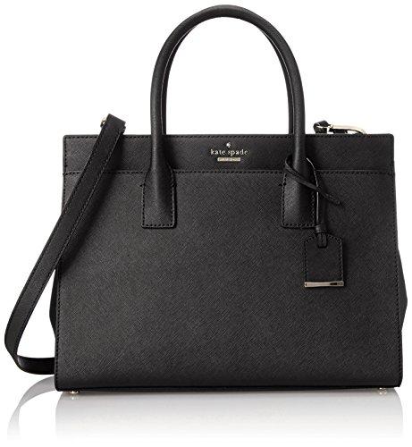 kate spade new york Cameron Street Candace Satchel Bag, Black, One Size