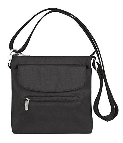 Travelon Anti-Theft Mini Shoulder Crossbody Bag – RFID Blocking Protection Purse