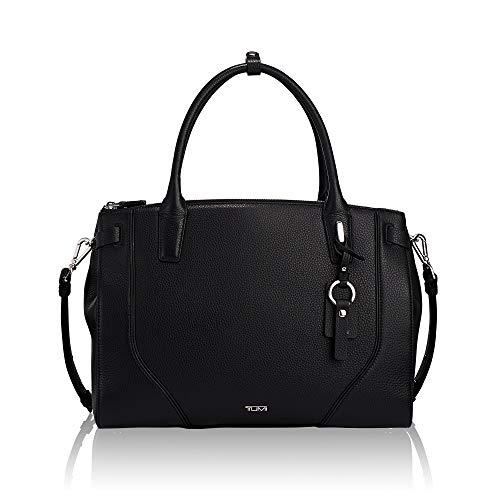 TUMI – Stanton Kiran Leather Laptop Tote – 13 Inch Computer Bag for Women – Black