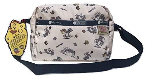 LeSportsac Tom and Jerry, The Chase Daniella Crossbody Handbag, Style 2434/Color K782