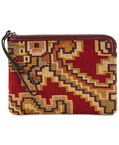 Patricia Nash Cassini Wristlet, Peruvian Tapestry