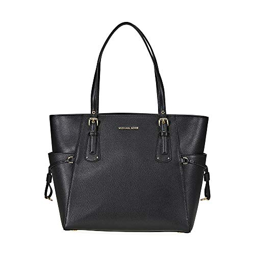 Michael Kors Voyager East/West Tote, Black, One Size