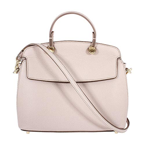 Furla My Piper Ladies Small Beige Vaniglia Leather Shoulder Bag 942212