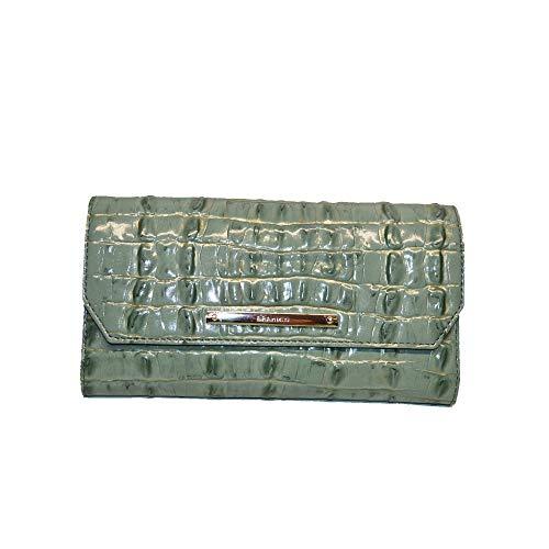 Brahmin Soft Checkbook Wallet Ocean La Scala Exclusive Clutch