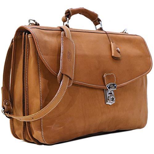 Floto Parma Edition Italian Calf- Skin Leather Messenger Bag