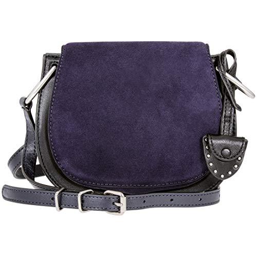 Rebecca Minkoff Crossbody Ladies Small Dark Blue Leather Shoulder Bag HF17FCBL30-001