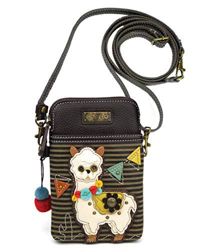 Chala Handbags Llama Striped Cellphone Crossbody Handbag – Llama Collector