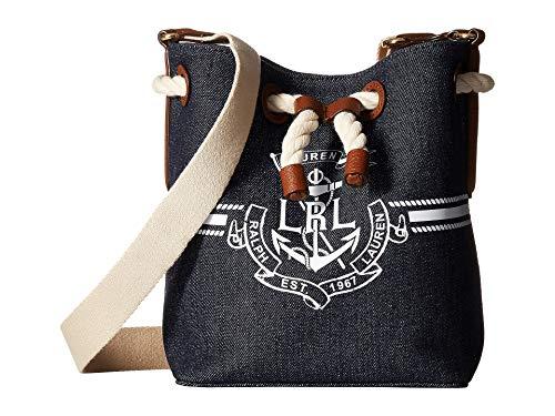 Lauren Ralph Lauren Anchor Debby II Mini Drawstring Bag