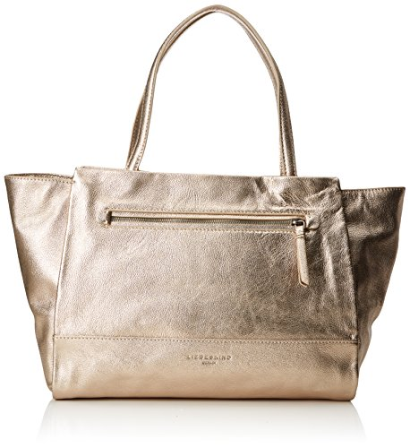 Liebeskind Berlin- Abaco Pgmeta, Shoulder Bag, Women's Gold (Moonlight), 15x51x29 cm (B x H x T)