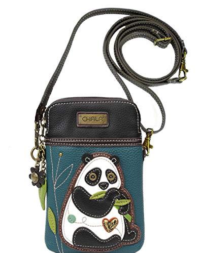 Chala Panda Cellphone Crossbody Handbag – Convertible Strap