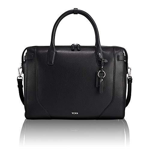 TUMI – Stanton Irina Leather Laptop Brief Briefcase – 15 Inch Computer Bag for Women – Black
