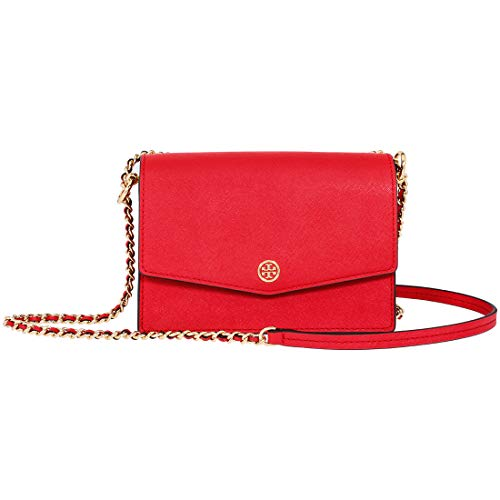 Tory Burch Robinson Ladies Small Red Leather Crossbody Bag 50212-612
