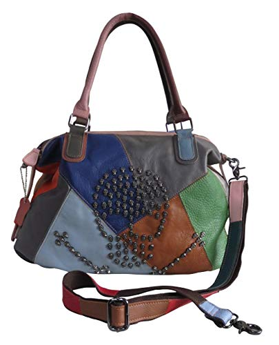 Amerileather Brien Leather Handbag (#1940-9)