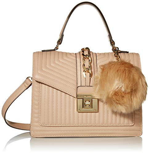 Aldo Top Handle Handbag Jerilini, Natural