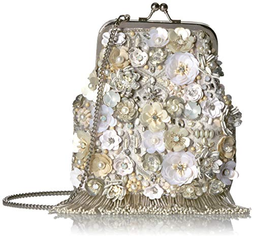 Mary Frances Crossbody Bag, Ivory