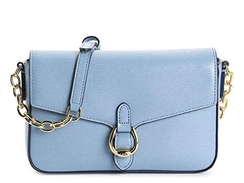 Lauren Ralph Lauren Bennington Leather Crossbody Bag
