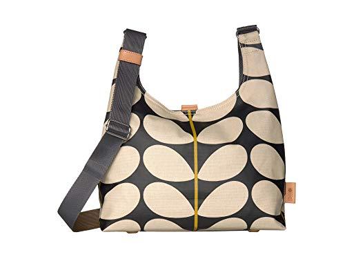 Orla Kiely Solid Stem Print Midi Sling Bag Black One Size