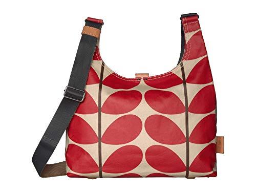 Orla Kiely Solid Stem Print Midi Sling Bag Red One Size